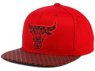 Mitchell and Ness NBA Reflective Iridescent Snapback Cap Adjustable Hats