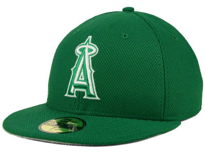 Los Angeles Angels MLB 2016 St. Patty's Diamond Era 59FIFTY Cap Hats