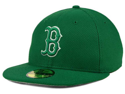 Boston Red Sox MLB 2016 St. Patty's Diamond Era 59FIFTY Cap Hats