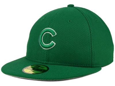Chicago Cubs MLB 2016 St. Patty's Diamond Era 59FIFTY Cap Hats