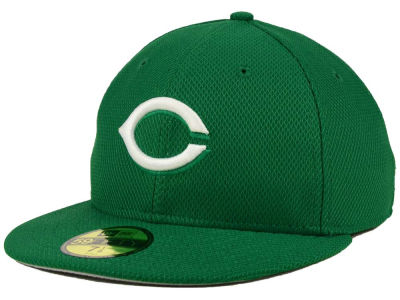 Cincinnati Reds MLB 2016 St. Patty's Diamond Era 59FIFTY Cap Hats