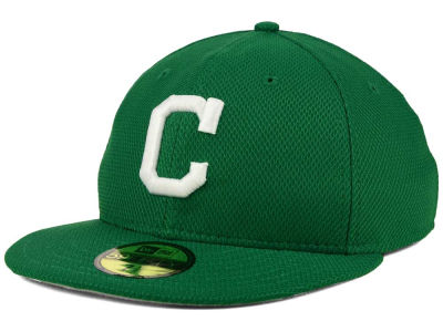 Cleveland Indians MLB 2016 St. Patty's Diamond Era 59FIFTY Cap Hats