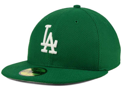 Los Angeles Dodgers MLB 2016 St. Patty's Diamond Era 59FIFTY Cap Hats