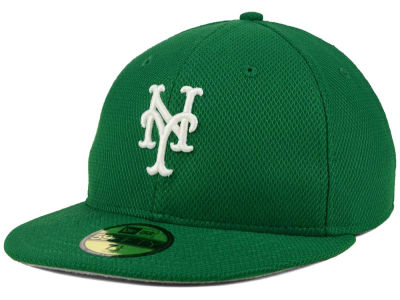 New York Mets MLB 2016 St. Patty's Diamond Era 59FIFTY Cap Hats