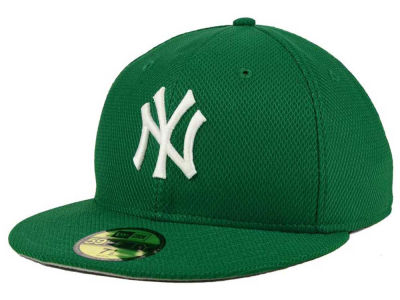 New York Yankees MLB 2016 St. Patty's Diamond Era 59FIFTY Cap Hats