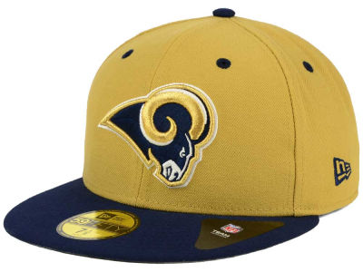 Los Angeles Rams NFL 2 Tone 59FIFTY Cap Hats
