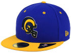 Los Angeles Rams New Era NFL 2 Tone 59FIFTY Cap Fitted Hats