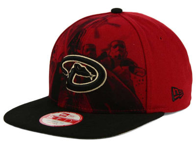 Arizona Diamondbacks MLB Shadow Front 9FIFTY Snapback Cap Hats