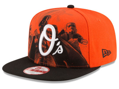 Baltimore Orioles MLB Shadow Front 9FIFTY Snapback Cap Hats