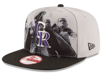 Colorado Rockies MLB Shadow Front 9FIFTY Snapback Cap Hats