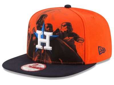 Houston Astros MLB Shadow Front 9FIFTY Snapback Cap Hats