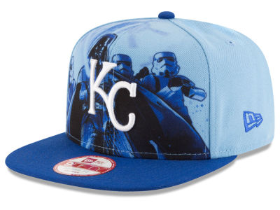 Kansas City Royals MLB Shadow Front 9FIFTY Snapback Cap Hats
