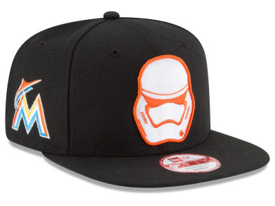 Miami Marlins MLB Pintrooper 2 9FIFTY Snapback Cap Hats