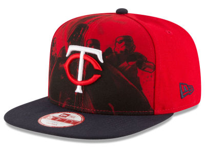 Minnesota Twins MLB Shadow Front 9FIFTY Snapback Cap Hats