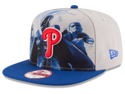 Philadelphia Phillies MLB Shadow Front 9FIFTY Snapback Cap Hats