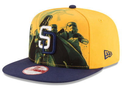 San Diego Padres MLB Shadow Front 9FIFTY Snapback Cap Hats