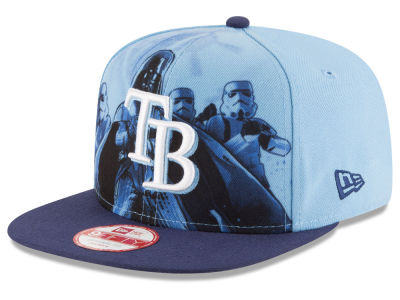 Tampa Bay Rays MLB Shadow Front 9FIFTY Snapback Cap Hats
