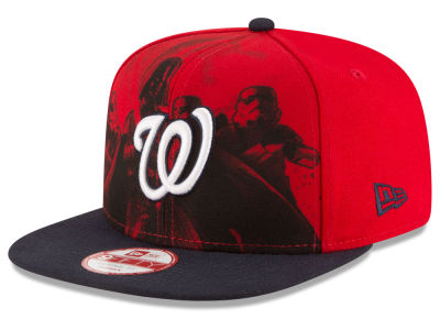 Washington Nationals MLB Shadow Front 9FIFTY Snapback Cap Hats