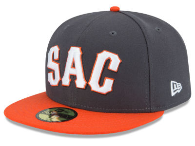Sacramento River Cats MiLB AC 59FIFTY Cap Hats