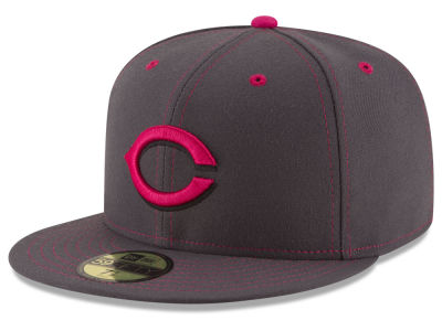 Cincinnati Reds 2016 MLB Mothers Day 59FIFTY Cap Hats