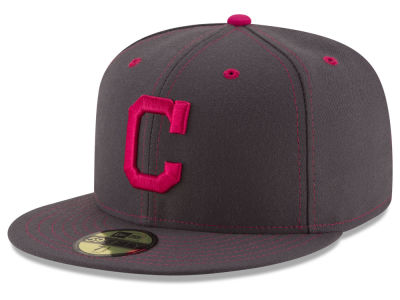 Cleveland Indians 2016 MLB Mothers Day 59FIFTY Cap Hats