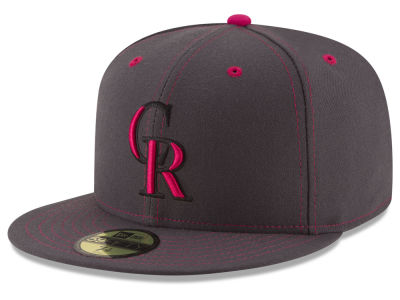 Colorado Rockies 2016 MLB Mothers Day 59FIFTY Cap Hats