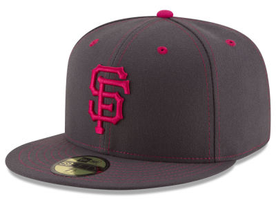San Francisco Giants 2016 MLB Mothers Day 59FIFTY Cap Hats