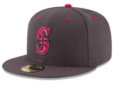 Seattle Mariners 2016 MLB Mothers Day 59FIFTY Cap Hats
