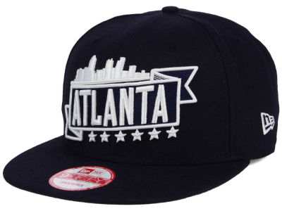 Atlanta City Skyline 9FIFTY Snapback Cap Hats