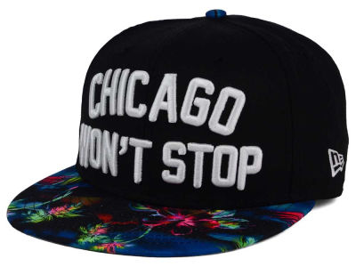 Chicago Won't Stop 9FIFTY Snapback Cap Hats
