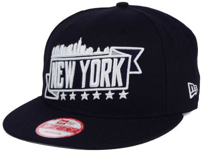 New York City Skyline 9FIFTY Snapback Cap Hats
