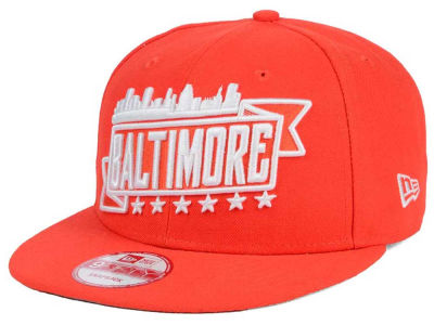 New Era City Skyline 9FIFTY Snapback Cap Hats