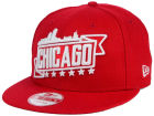 Chicago City Skyline 9FIFTY Snapback Cap Adjustable Hats