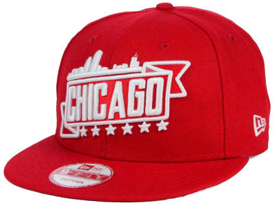 Chicago City Skyline 9FIFTY Snapback Cap Hats