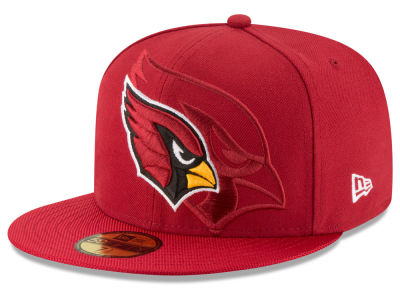 Arizona Cardinals 2016 Official NFL Sideline 59FIFTY Cap Hats
