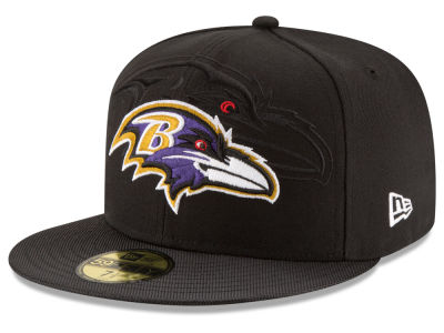 Baltimore Ravens 2016 Official NFL Sideline 59FIFTY Cap Hats