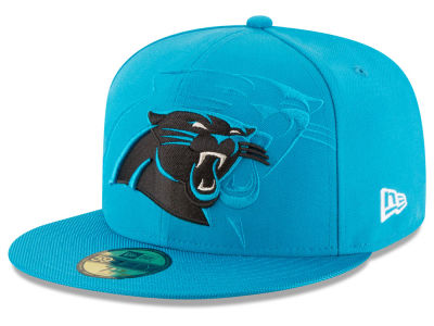 Carolina Panthers 2016 Official NFL Sideline 59FIFTY Cap Hats