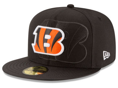 Cincinnati Bengals 2016 Official NFL Sideline 59FIFTY Cap Hats