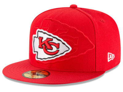 Kansas City Chiefs 2016 Official NFL Sideline 59FIFTY Cap Hats