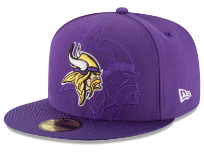 Minnesota Vikings 2016 Official NFL Sideline 59FIFTY Cap Hats