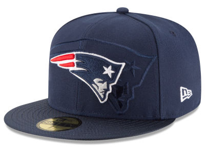 New England Patriots 2016 Official NFL Sideline 59FIFTY Cap Hats