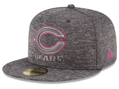 Chicago Bears NFL Breast Cancer Awareness Official 59FIFTY Cap Hats