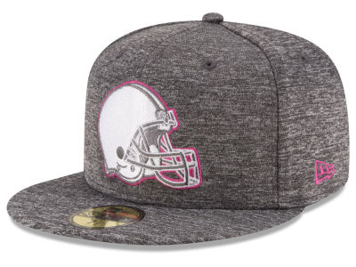 Cleveland Browns NFL Breast Cancer Awareness Official 59FIFTY Cap Hats