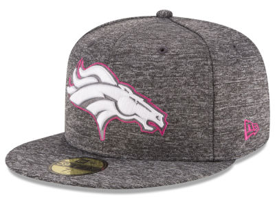 Denver Broncos NFL Breast Cancer Awareness Official 59FIFTY Cap Hats