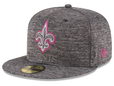 New Orleans Saints NFL Breast Cancer Awareness Official 59FIFTY Cap Hats