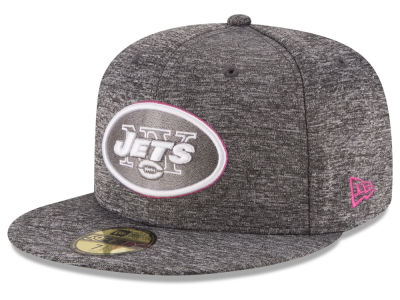 New York Jets NFL Breast Cancer Awareness Official 59FIFTY Cap Hats