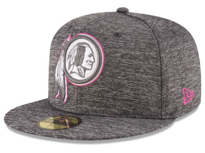 Washington Redskins NFL Breast Cancer Awareness Official 59FIFTY Cap Hats