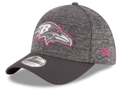 Baltimore Ravens NFL Breast cancer Awareness Official 39THIRTY Cap Hats
