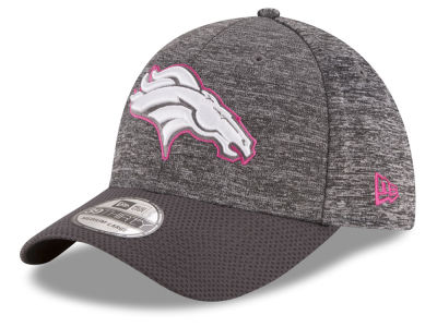 Denver Broncos NFL Breast cancer Awareness Official 39THIRTY Cap Hats
