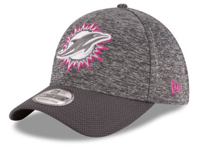 Miami Dolphins NFL Breast cancer Awareness Official 39THIRTY Cap Hats